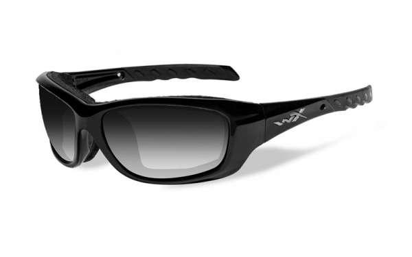 WileyX Gravity R: glänzend schwarz