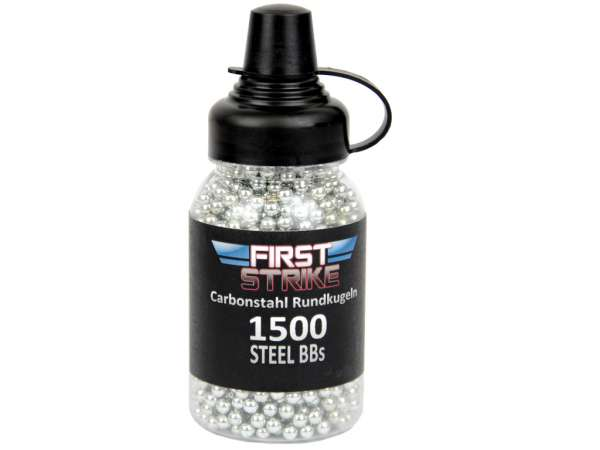 First Strike Stahlrundkugel 1.500 Stk. carbon