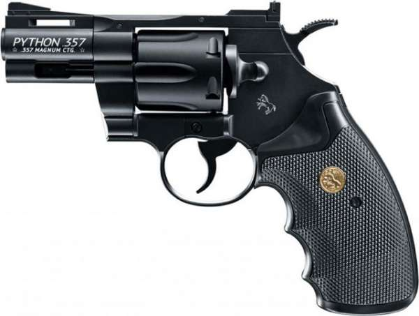 "Colt Python 2,5"" CO2 Revolver 4,5mm BB´s"