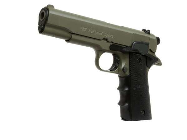 Schreckschusspistole ME Mod. 1911 Sport 9mm P.A.K. oliv