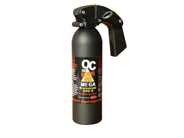 OC 5000 MEGA Breitstrahl (gelb) Pfefferspray 400 ml