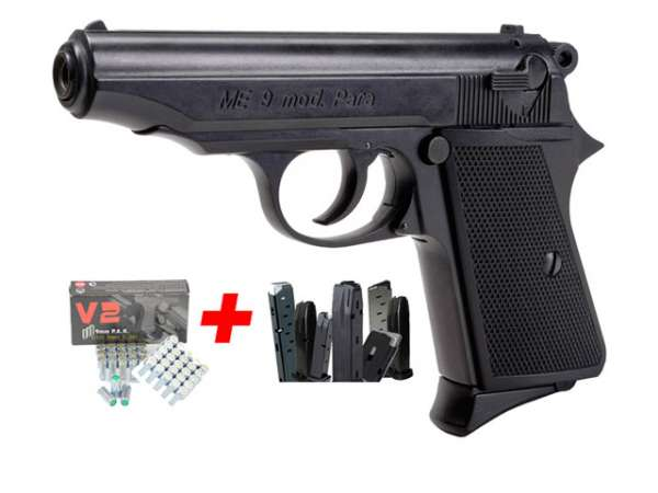 Spar-Set ME 9 Para schwarz Kal. 9 mm P.A.K.