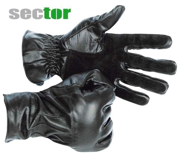 Sector Einsatzhandschuhe mit Kevlar und Metallstaubfüllung