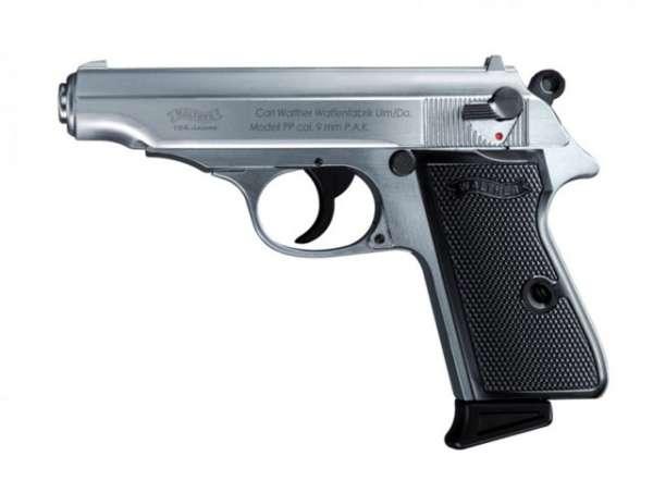 Walther PP, Schreckschusspistole, Steel Finish