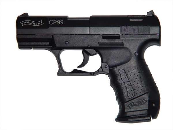 Walther CP99, schwarz, C02 Pistole, 4.5mm Diabolos