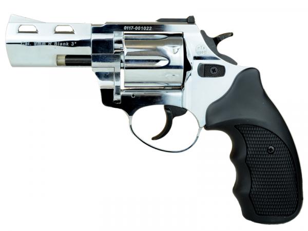 Schreckschussrevolver Zoraki R2 9mm R Knall 3 Zoll Lauf chrom