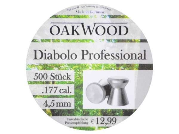 Oakwood Professional Diabolo 500 St. 4,5mm (.177)