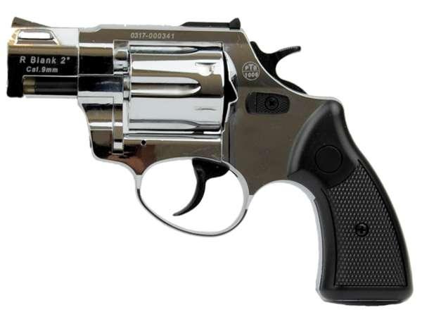 ZORAKI R2 2 Zoll Schreckschuss Gas Signal Revolver Kaliber 9 mm R.K. chrom