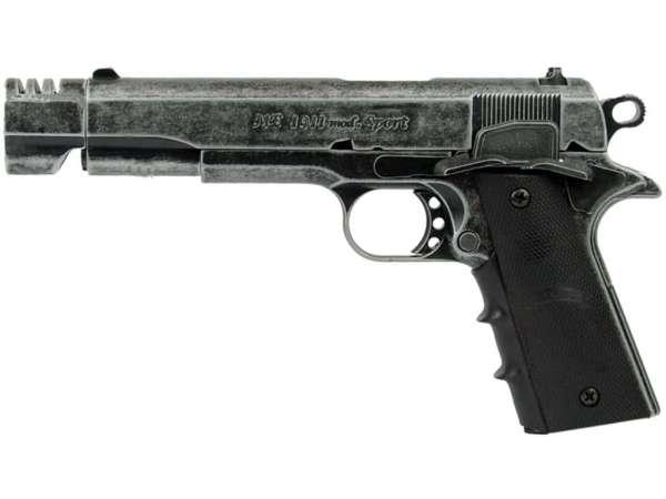 ME Mod. 1911 SPORT Schreckschuss Pistole Gas Alarm Signal Pistole 9 mm P.A.K. antik look KG