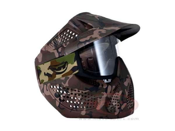 JT-Maske ALPHA camo Thermalglas