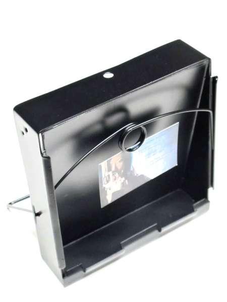 Kugelfangkasten / Schießstand / Scheibenhalter 17x17cm / schwarz