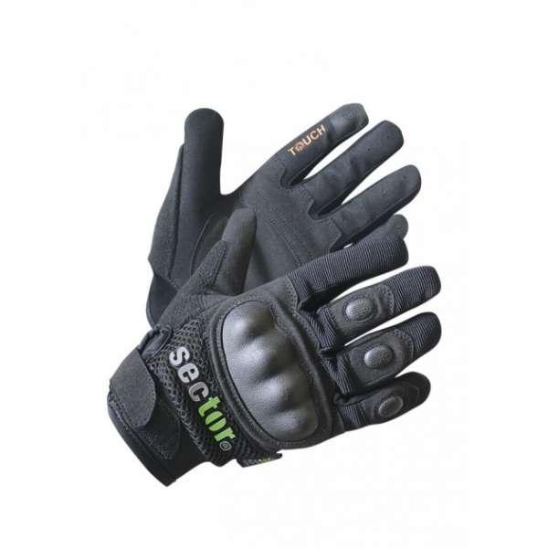 Security Handschuhe Sector mit kunststoffverstärkten Protektoren und Touch