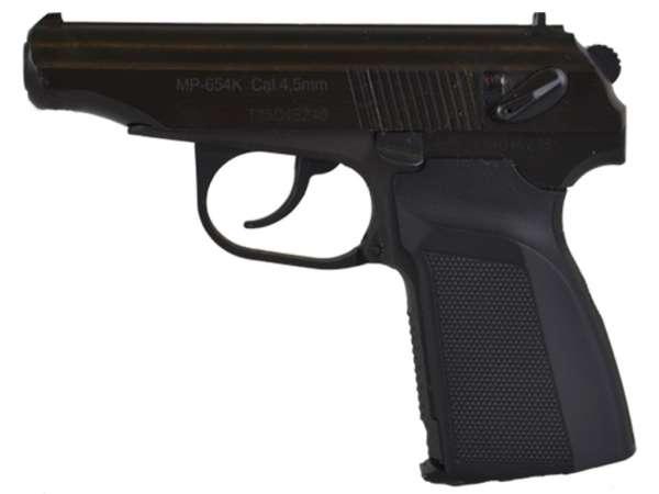 Luftpistole Baikal Makarov MP-654K Kal. 4,5 mm schwarz