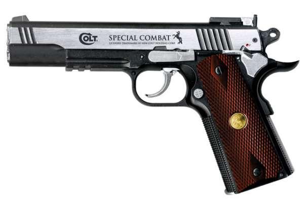 Colt Special Combat Classic, bicolor, Co2 Pistole